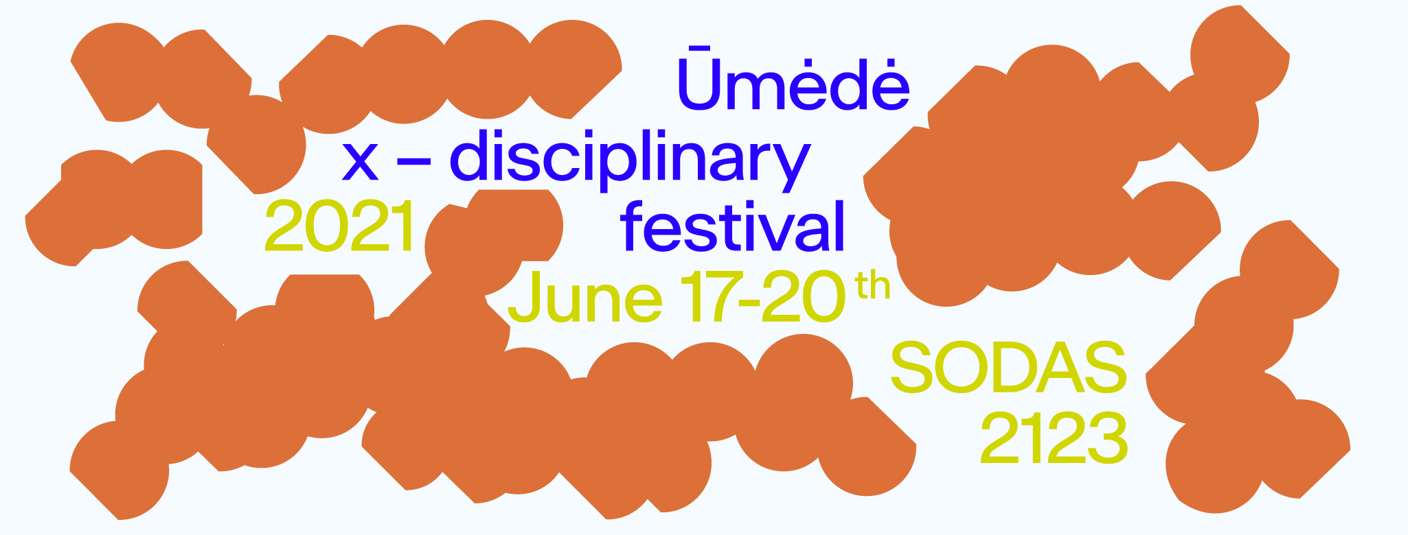 1st ūmėdė festival artists and programme